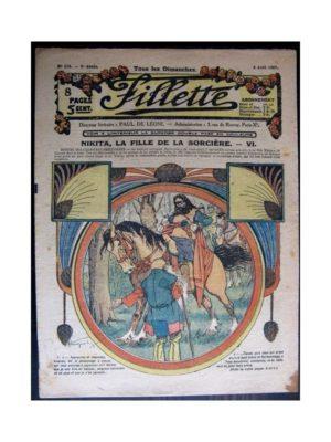 FILLETTE (SPE) 1917 N°474 NIKITA LA FILLE DE LA SORCIERE (6)