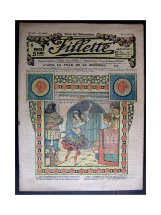 FILLETTE 1917 N°475 NIKITA LA FILLE DE LA SORCIERE (7)