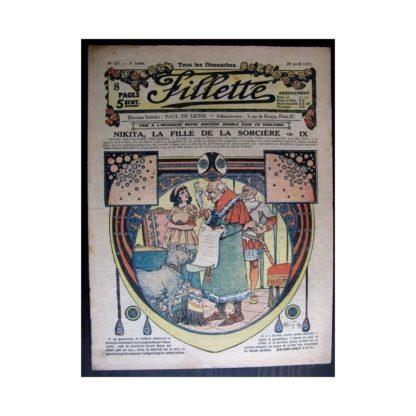 FILLETTE 1917 N°477 NIKITA LA FILLE DE LA SORCIERE (9)