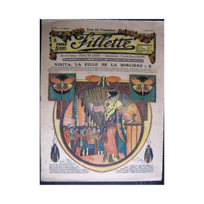 FILLETTE 1917 N°478 NIKITA LA FILLE DE LA SORCIERE (10)