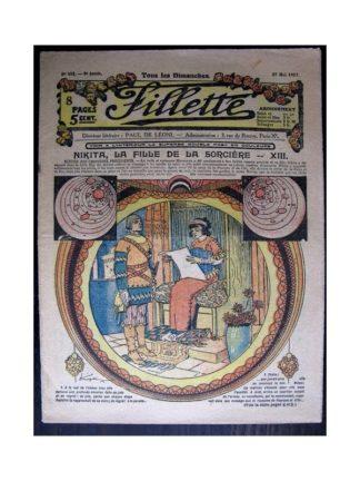 FILLETTE 1917 N°481 NIKITA LA FILLE DE LA SORCIERE (13)