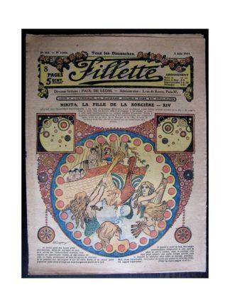 FILLETTE 1917 N°482 NIKITA LA FILLE DE LA SORCIERE (14)