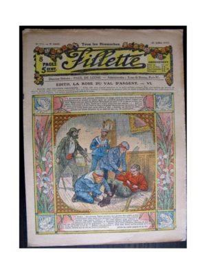 FILLETTE 1917 N°488 EDITH LA ROSE DU VAL D'ARGENT (6)