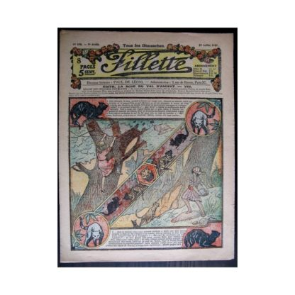 FILLETTE 1917 N°490 EDITH LA ROSE DU VAL D'ARGENT (8)