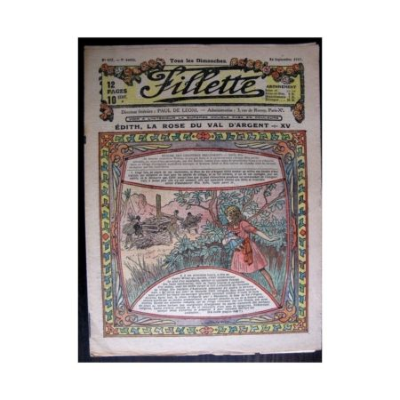 FILLETTE 1917 N°497 EDITH LA ROSE DU VAL D'ARGENT (15)