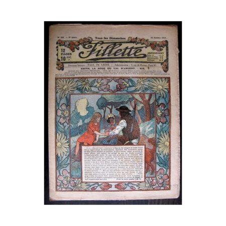 FILLETTE 1917 N°501 EDITH LA ROSE DU VAL D'ARGENT (19)