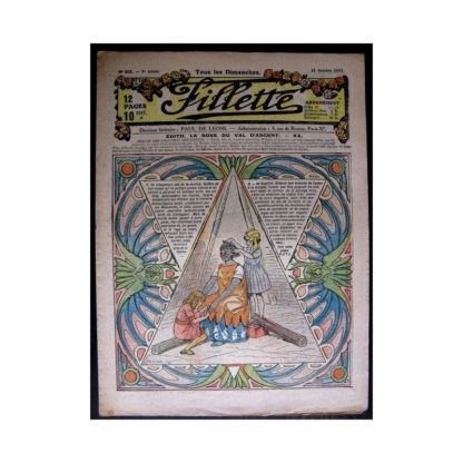 FILLETTE 1917 N°502 EDITH LA ROSE DU VAL D'ARGENT (20)