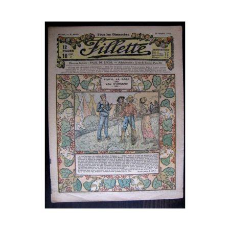 FILLETTE 1917 N°503 EDITH LA ROSE DU VAL D'ARGENT (21)