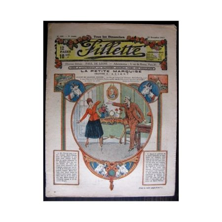 FILLETTE 1917 N°505 LA PETITE MARQUISE (2) A,E,I,O,U,Y