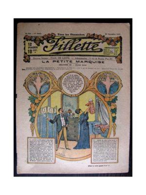 FILLETTE 1917 N°506 LA PETITE MARQUISE (3) DOUBLE DEUIL