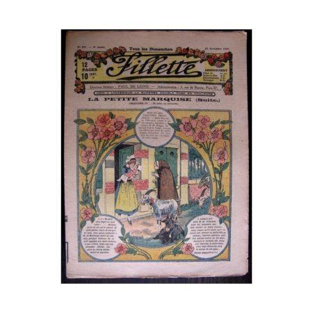 FILLETTE 1917 N°507 LA PETITE MARQUISE (4) NI NOM NI PRENOMS