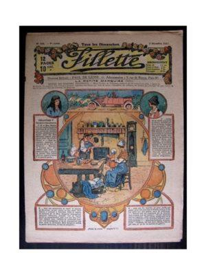 FILLETTE 1917 N°508 LA PETITE MARQUISE (5) LA MERE CARABOSSE