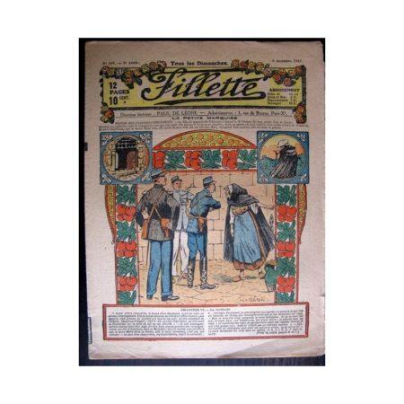 FILLETTE 1917 N°509 LA PETITE MARQUISE (6) LA CERTITUDE