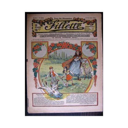 FILLETTE 1917 N°510 LA PETITE MARQUISE (7) VERS PARIS