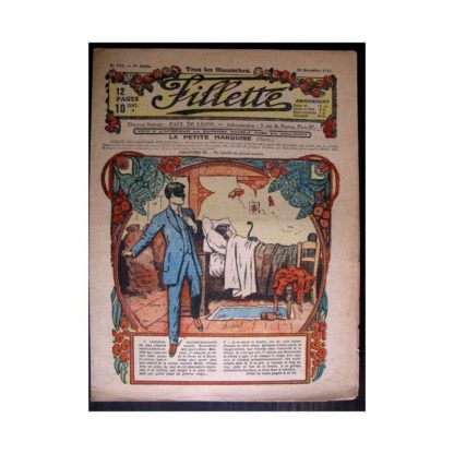 FILLETTE 1917 N°512 LA PETITE MARQUISE (9) UN BANDIT DU GRAND MONDE