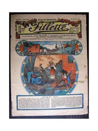 FILLETTE 1918 N°515 LA PETITE MARQUISE (12) L'OGRESSE