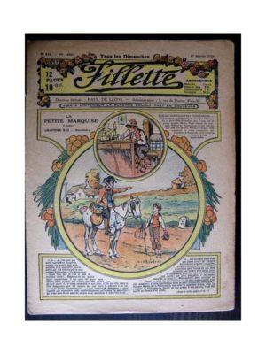 FILLETTE (SPE) 1918 N°516 LA PETITE MARQUISE (13) RENCONTRE