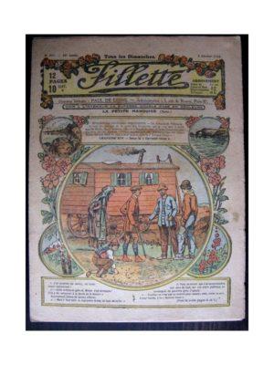 FILLETTE (SPE) 1918 N°517 LA PETITE MARQUISE (14) DANS LA CAVERNE BLEUE