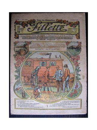 FILLETTE 1918 N°517 LA PETITE MARQUISE (14) DANS LA CAVERNE BLEUE