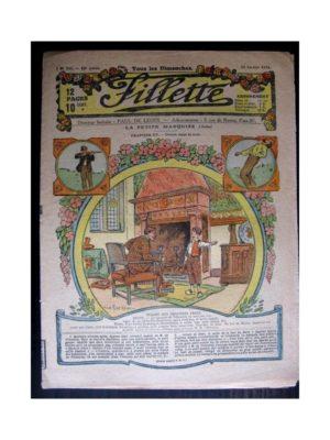 FILLETTE (SPE) 1918 N°518 LA PETITE MARQUISE (15) DRAME DANS LA NUIT