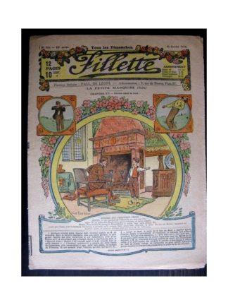 FILLETTE 1918 N°518 LA PETITE MARQUISE (15) DRAME DANS LA NUIT