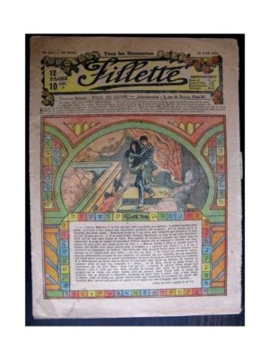 FILLETTE (SPE) 1918 N°529 GINETTE (10)