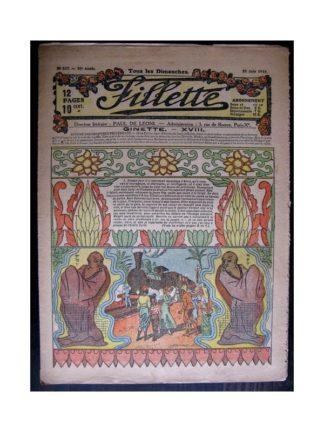 FILLETTE 1918 N°537 GINETTE (18)