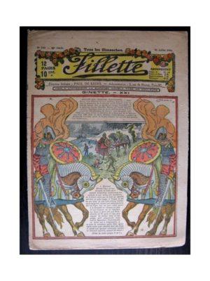 FILLETTE 1918 N°540 GINETTE (21)