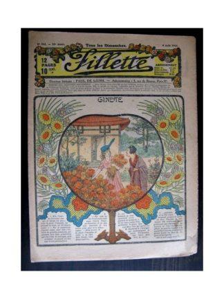 FILLETTE 1918 N°542 GINETTE (23)