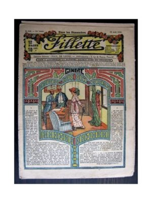 FILLETTE 1918 N°543 GINETTE (24)