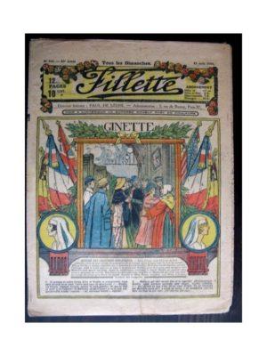 FILLETTE 1918 N°544 GINETTE (25)