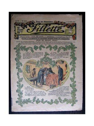 FILLETTE 1918 N°547 FILLE DE SOLDAT (2)