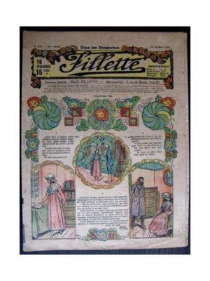 FILLETTE N°552 (6 octobre 1918) FILLE DE SOLDAT (7)