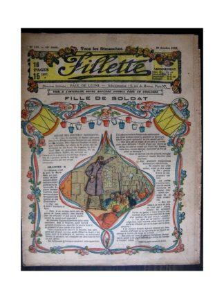 FILLETTE 1918 N°554 FILLE DE SOLDAT (9)