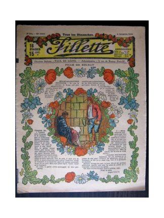 FILLETTE 1918 N°555 FILLE DE SOLDAT (10)