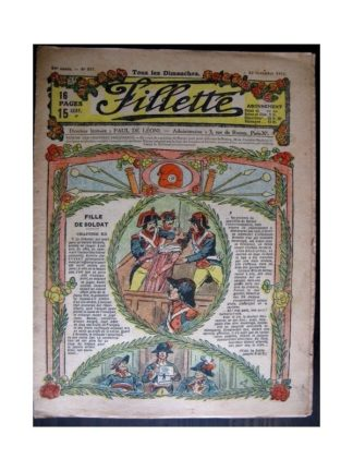 FILLETTE 1918 N°556 FILLE DE SOLDAT (11)