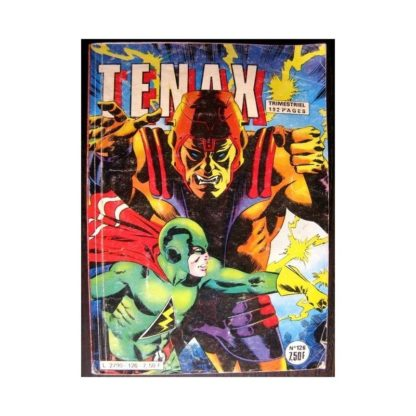 TENAX N°126 - UN MONSTRE SUR LA LUNE (Impéria 1982)