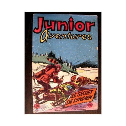 JUNIOR AVENTURES N°30 LE SECRET DE L'INDIEN (Editions des Remparts 1953)