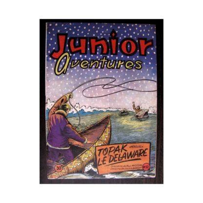 JUNIOR AVENTURES N°32 TOPAK LE DELAWARE (Editions des Remparts 1953)