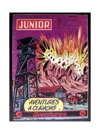 JUNIOR AVENTURES N°50 AVENTURES A CURAÇAO (Editions des Remparts 1955)