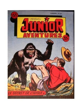 JUNIOR AVENTURES N°68 LE SECRET DE L'IDOLE (Editions des Remparts 1956)