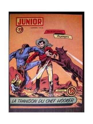JUNIOR AVENTURES N°79 LA TRAHISON DU CHEF HOOKER (Editions des Remparts 1957)