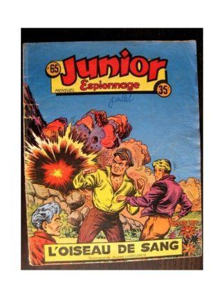 JUNIOR ESPIONNAGE N°65 L'OISEAU DE SANG (BRANTONNE) Editions des Remparts