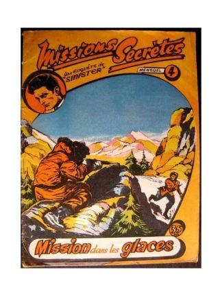 MISSIONS SECRETES N°4 - MISSION DANS LES GLACES (Remparts 1957)