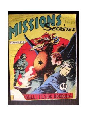 MISSIONS SECRETES N°21 LES TABLETTES DU BOUDDHA (Editions des Remparts)