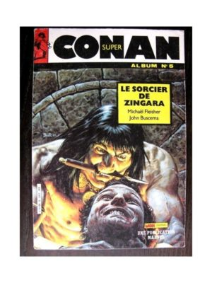 SUPER CONAN ALBUM N°5 (N°13,14,15) LA CHUTE D'AKTER KHAN (Mon Journal)