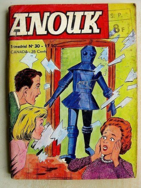 ANOUK N°30 - LE COIN DES SURPRISES (Jeunesse et Vacances 1970)