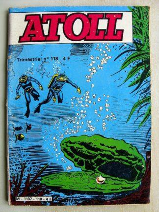 ATOLL N°118 - LES AQUANAUTES - LA MYSTERIEUSE SIRENE (Jeunesse et Vacances 1981)
