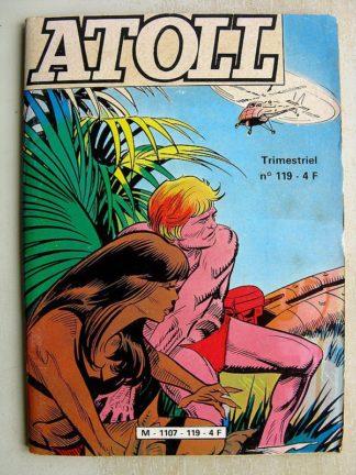ATOLL N°119 - LES AQUANAUTES - SUR UN FOND DE CORAIL (Jeunesse et Vacances 1981)