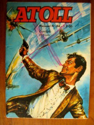ATOLL N°84 - COLONEL X - CAPTURE (Jeunesse et Vacances 1974)